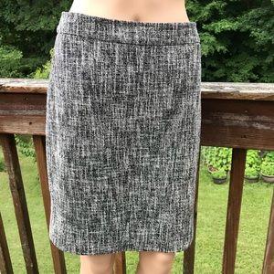 Kate Spade Herringbone Pencil Skirt Size 4